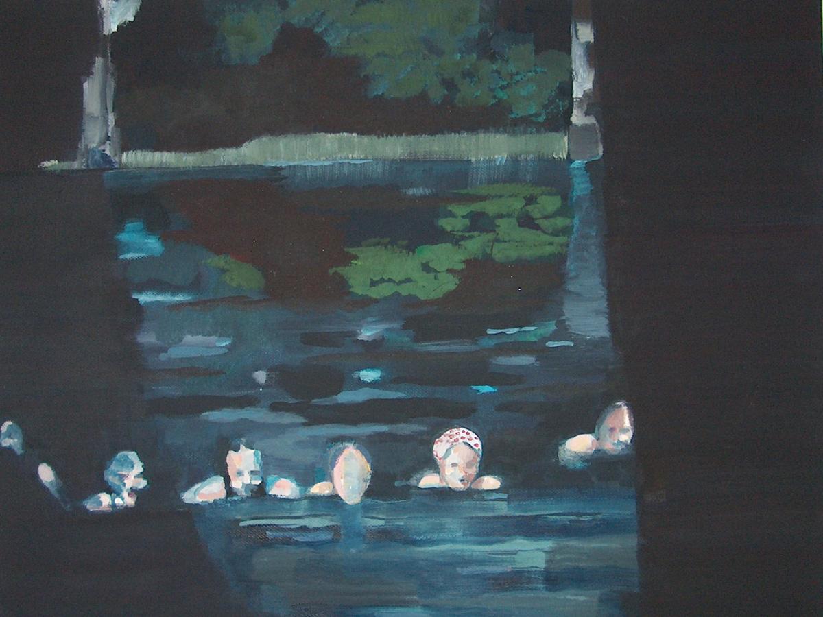 Avondzwemsters