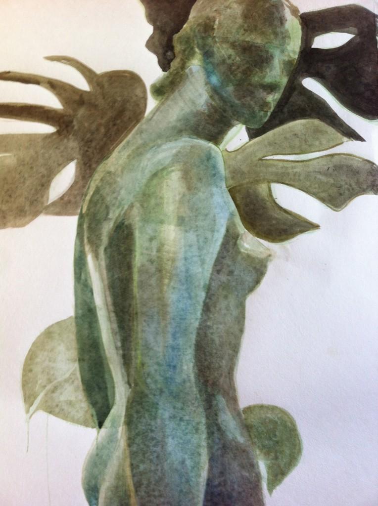 Uit serie: Statues & Plants 2014