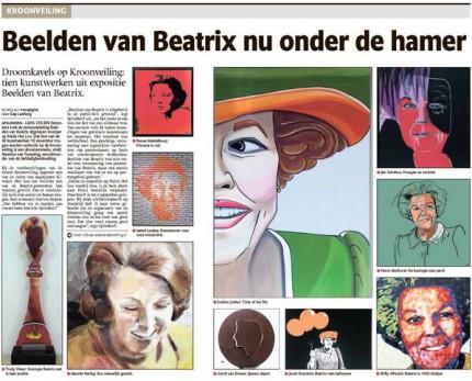 Beatrix kroonveiling
